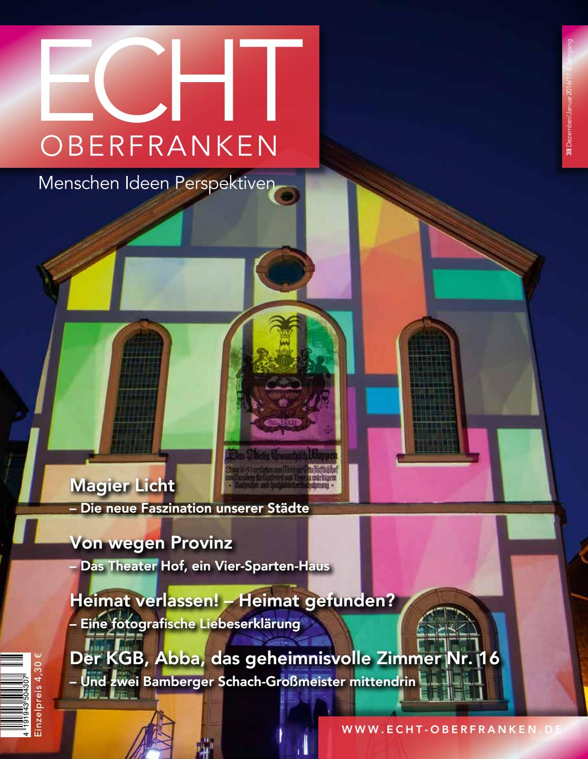 ECHT Oberfranken - Ausgabe 38 by Kober Verlag und Marketing - issuu