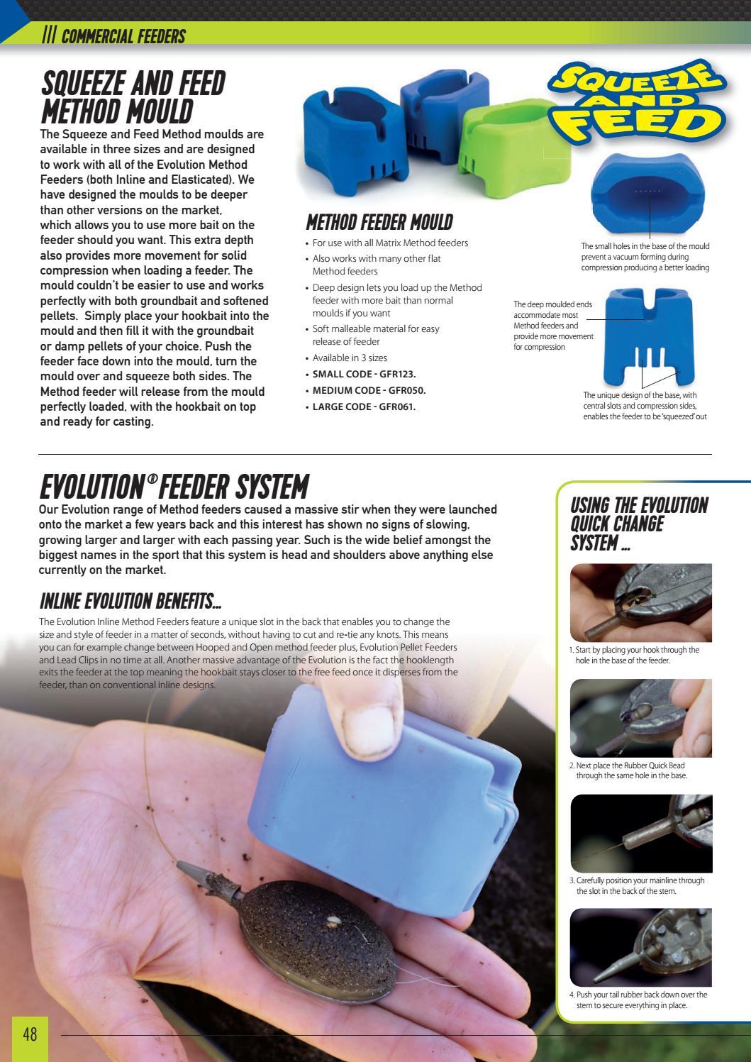 Matrix Method Feeder Mould Large