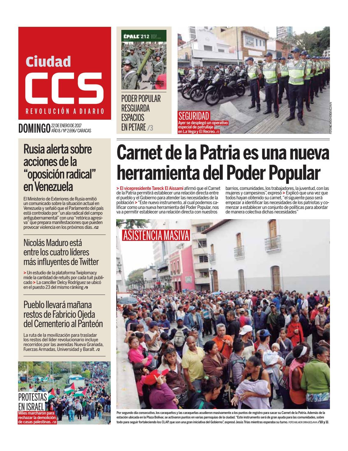 e1dea13822faf 22 01 17 by Ciudad CCS - issuu