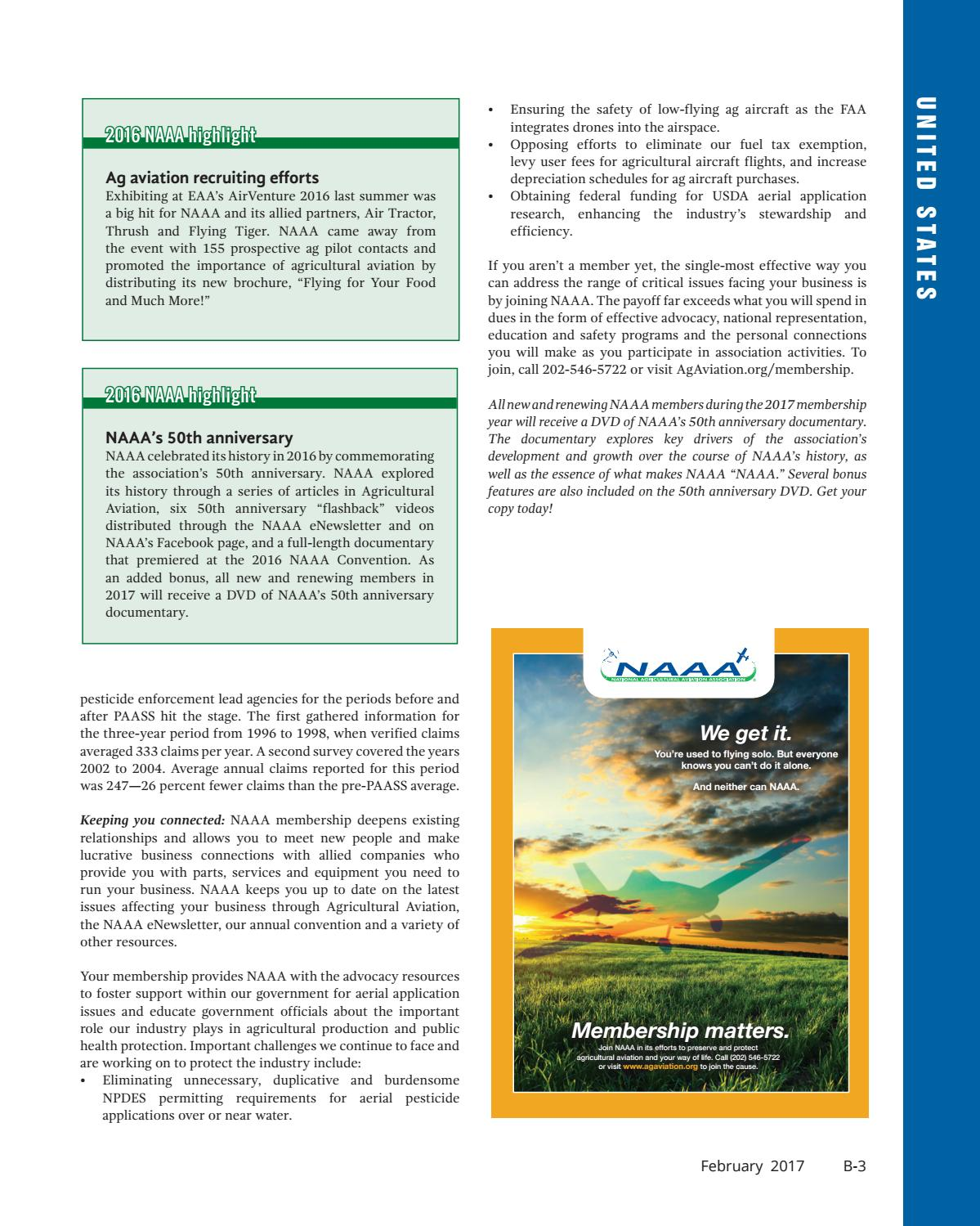 February 2017 - U S  Edition in English by AgAir Update - issuu
