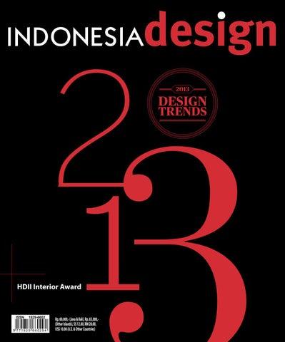 Indonesia Design Magazine Ed 54 2013 Design Trends By Arvada