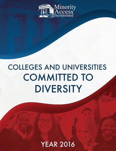Colleges and Universities  Committed to Diversity by DeVonna Young ... 4d788a212