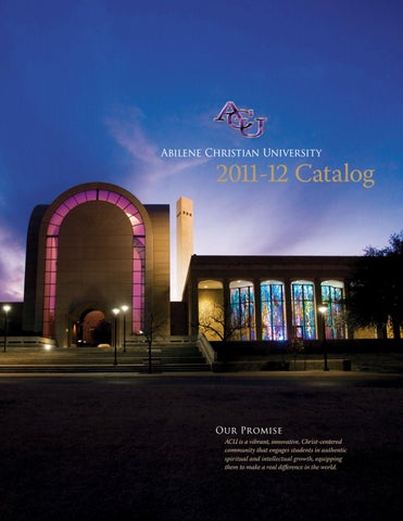 Abilene Christain University (ACU) application process ...