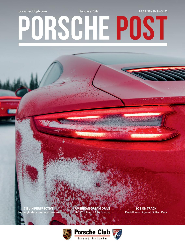 a7fb80f3421 Porsche Post January 2017 by Porsche Club Great Britain - issuu