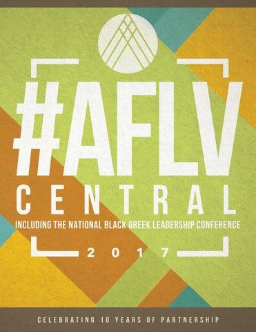 2017 #AFLVCentral Program Book by Association of Fraternal