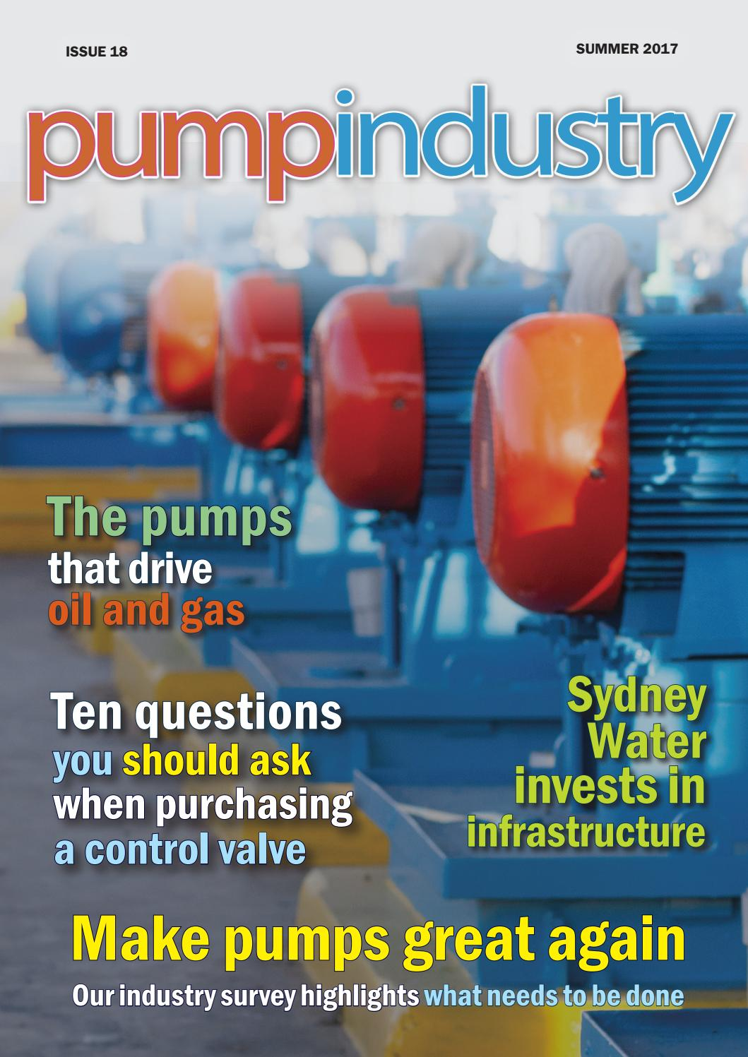 Pump Industry Summer 2017 Digital Edition by Monkey Media - issuu