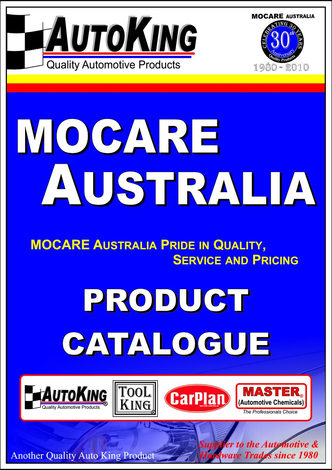 Mocare Catalogue by S & Y Agencies - issuu on
