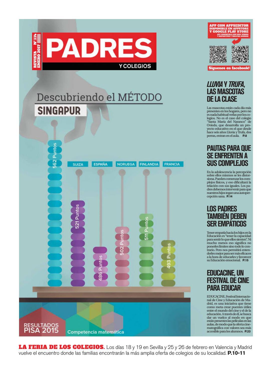 Padres y Colegios Nº 114 - enero 2017 by Grupo Siena - issuu