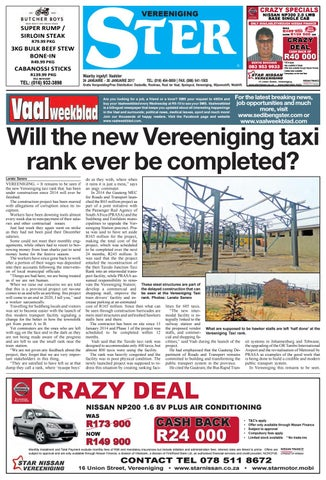 Vereeniging ster 24 30 januarie 2017 by jannie du plessis issuu page 1 crazy specials vereeniging reheart Choice Image