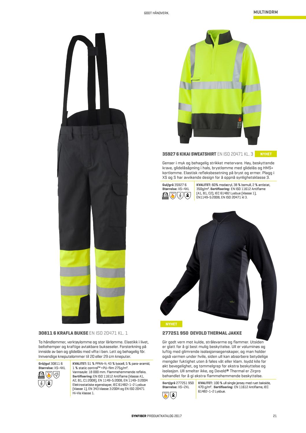 435afdd5 Synfiber Workwear katalog 2017 by Synfiber Workwear - issuu