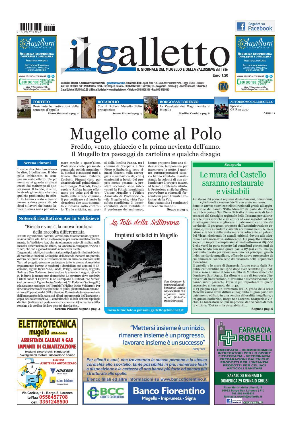Galletto 1288 Del 21 Gennaio By Il Galletto Giornale Issuu
