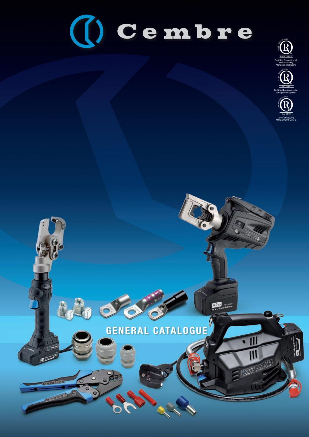 General Catalogue By Cembre Spa Issuu Mk5 Circuit The Best Choice For Compatibility With Remote Controls