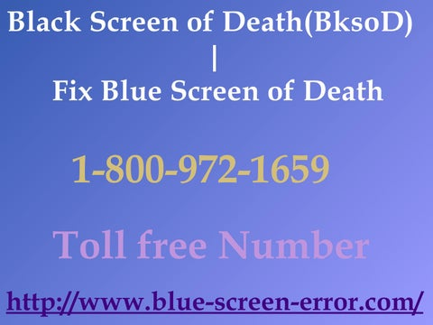 Ways To 1-800-972-1659 Fix Windows 10 Blue Screen Of Death by
