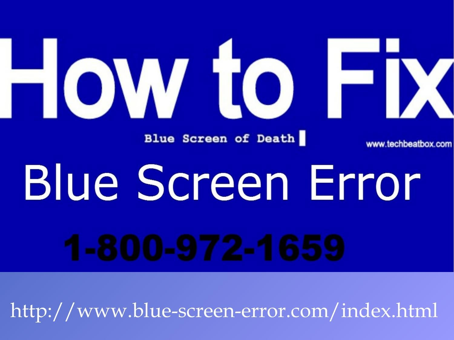Blue Screen 1-800-972-1659 Driver_Irql_Not_Less_Or_E by