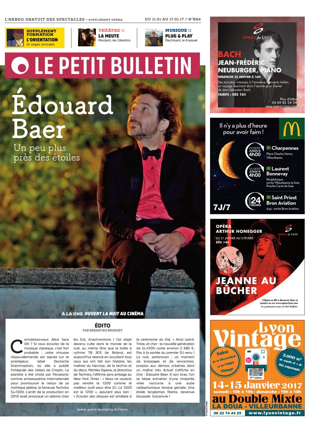 Le petit bulletin lyon 864 by le petit bulletin lyon - Le petit salon lyon 7 ...
