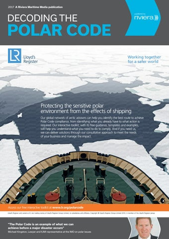 Decoding the Polar Code 2017 by rivieramaritimemedia - issuu