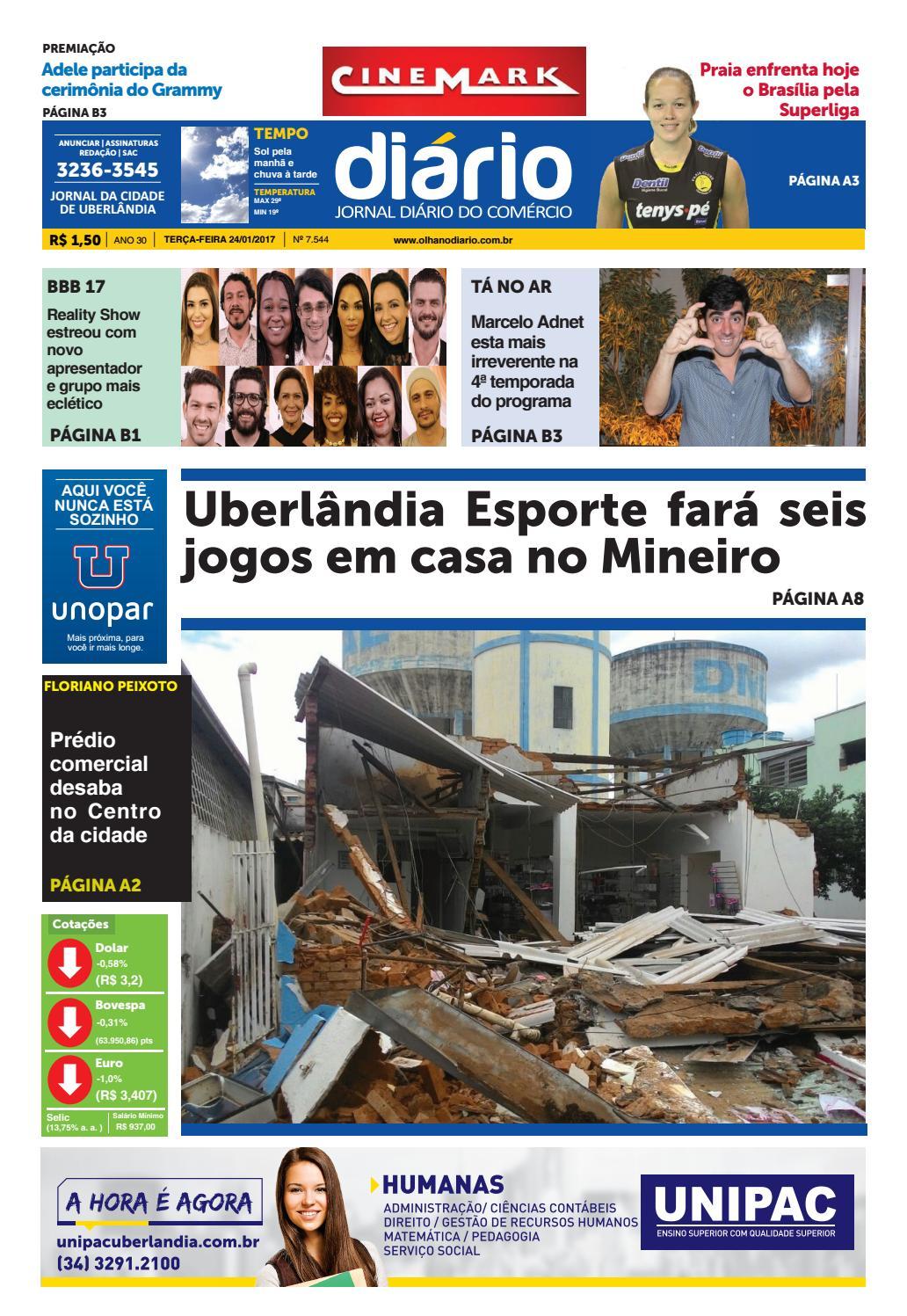6c5e7b9442 Edição 24 01 2017 by Diário do Comércio - issuu