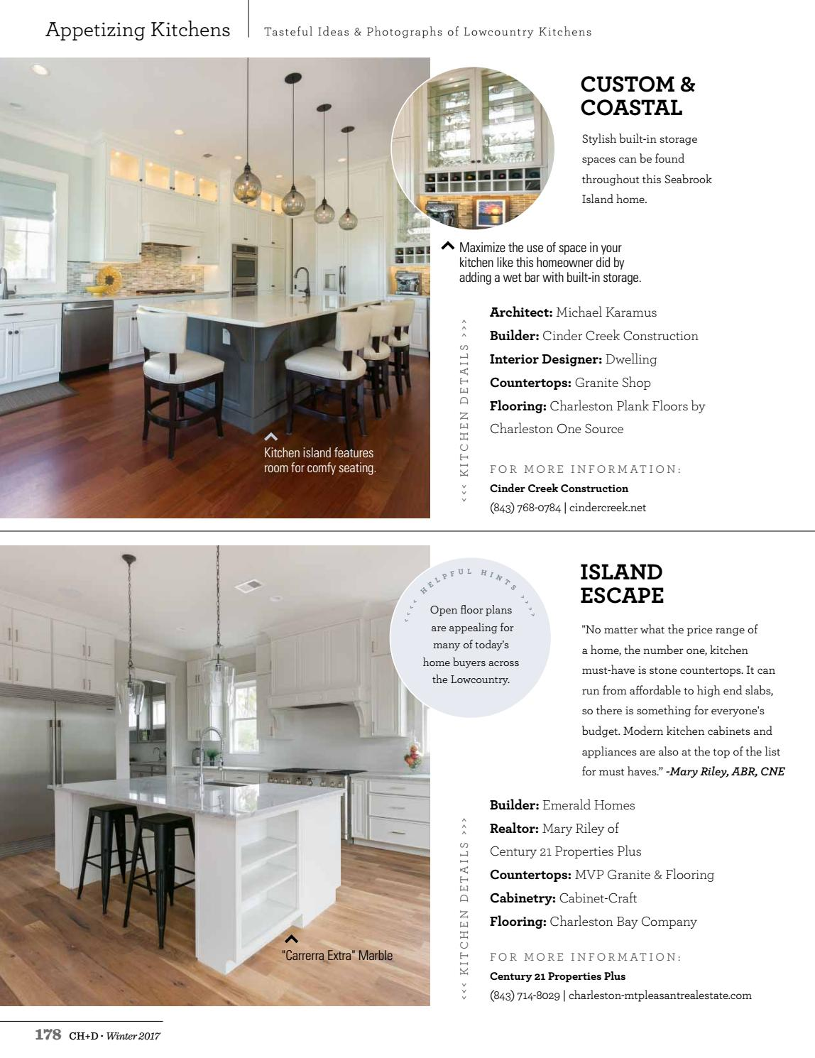 Charleston Home Design Magazine Winter 2017 By