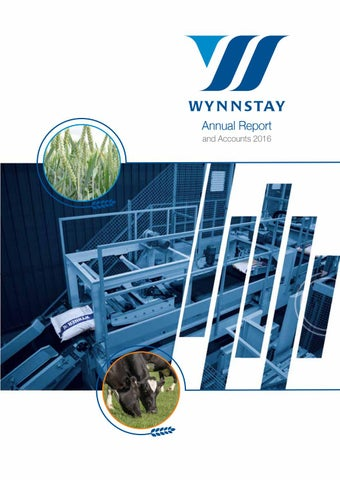 Wynnstay Annual Report & Accounts 2016 by WynnstayGroup - issuu