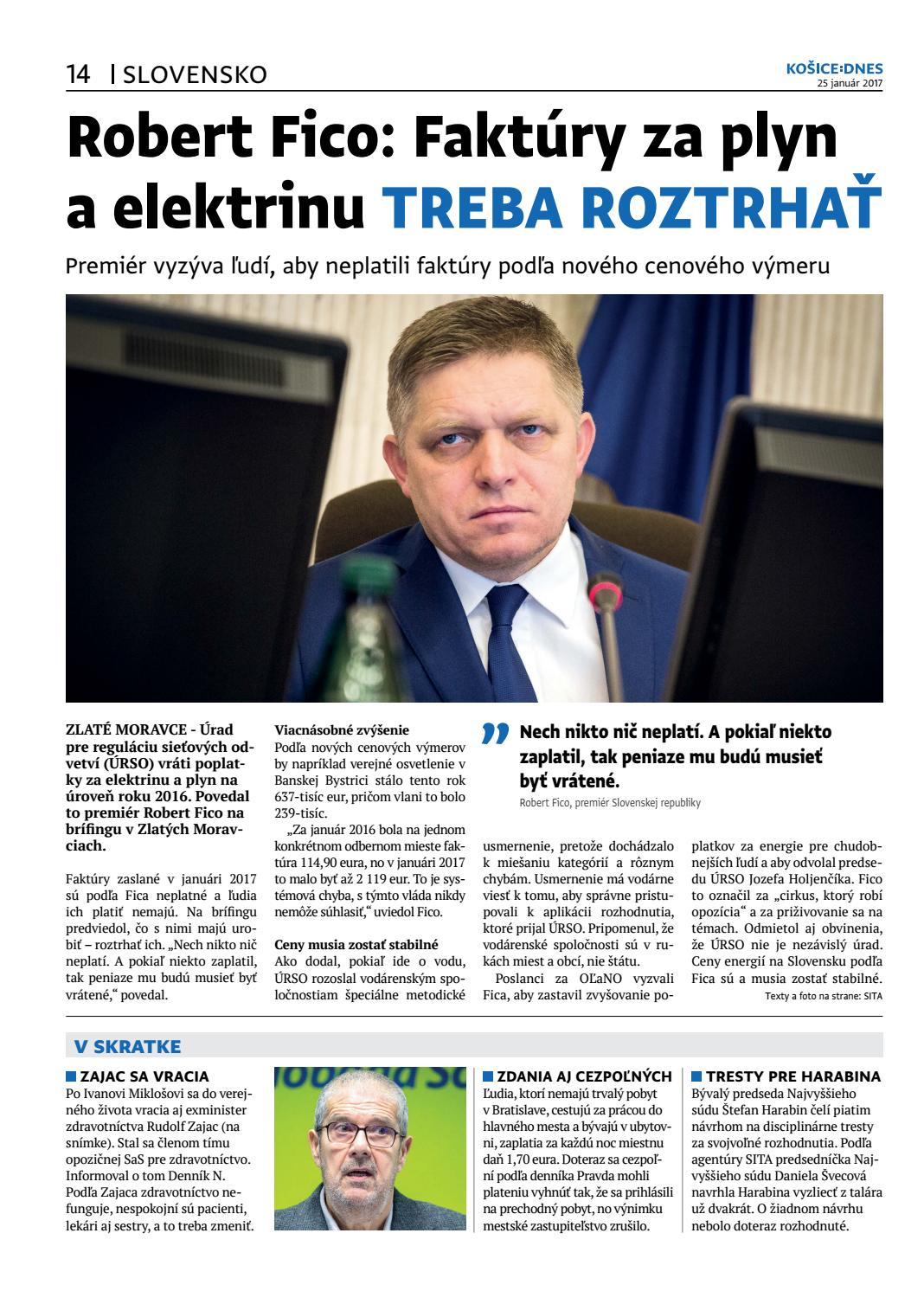 42375f1bc4e5 KOŠICE DNES 25.1.2017 by KOŠICE DNES - issuu