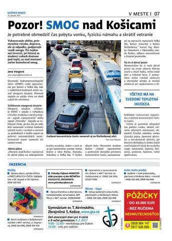 af6bef47ddc3 KOŠICE DNES 25.1.2017 by KOŠICE DNES - issuu