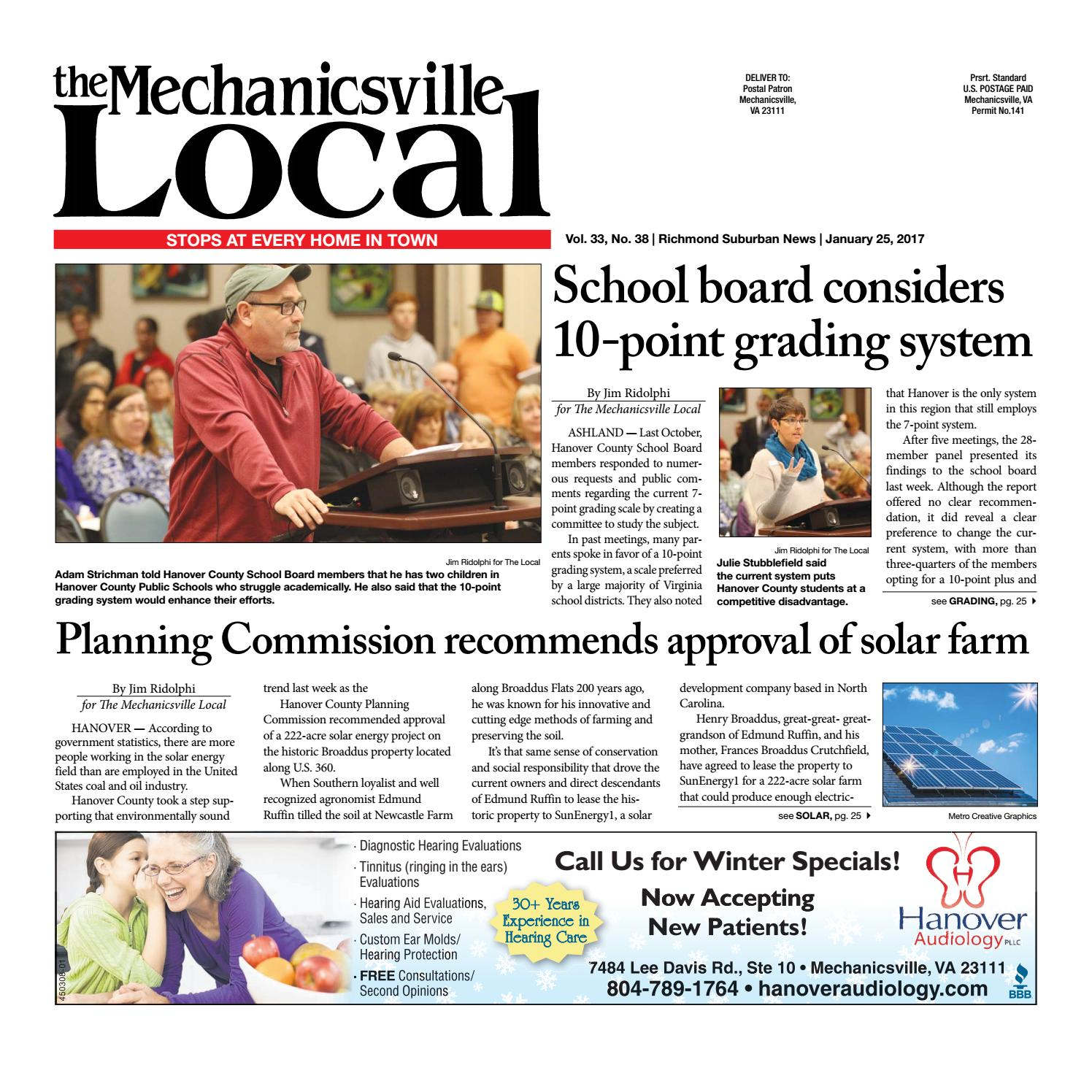 01/25/17 by The Mechanicsville Local - issuu