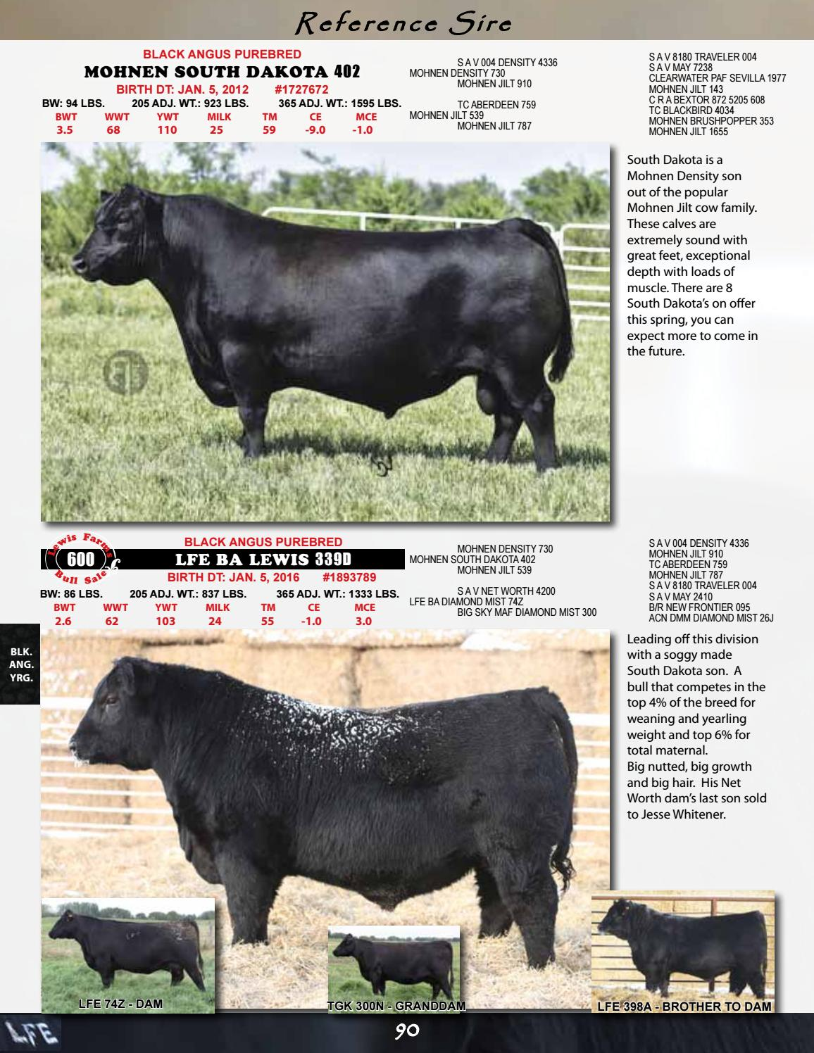 Lewis Farms 32nd Annual Bull Sale by Lewis Farms - issuu