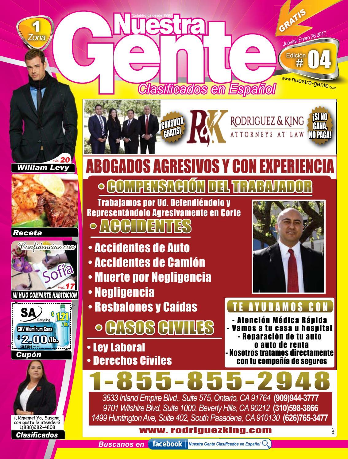 Nuestra Gente 2017 Edicion 4 Zona 1 by Nuestra Gente - issuu