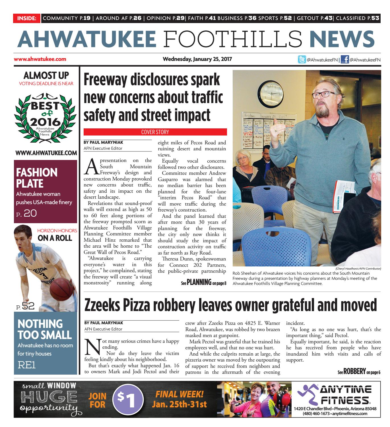 Ahwatukee Foothills News - Jan. 25, 2017 by Times Media Group - issuu