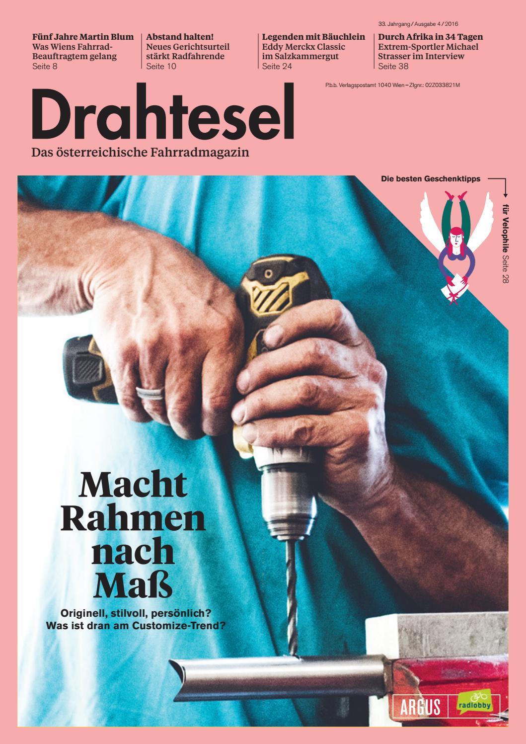DRAHTESEL 2016-4 by Radlobby ARGUS - issuu