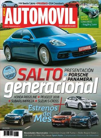 054312a5a96d Revista Automóvil Panamericano Edición Chilena Nº89 (Enero 2017) by ...