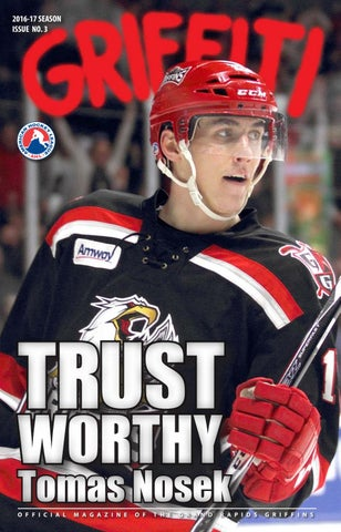 3aa2e00932cc 2016-17 Griffiti - Issue  3 by Grand Rapids Griffins - issuu