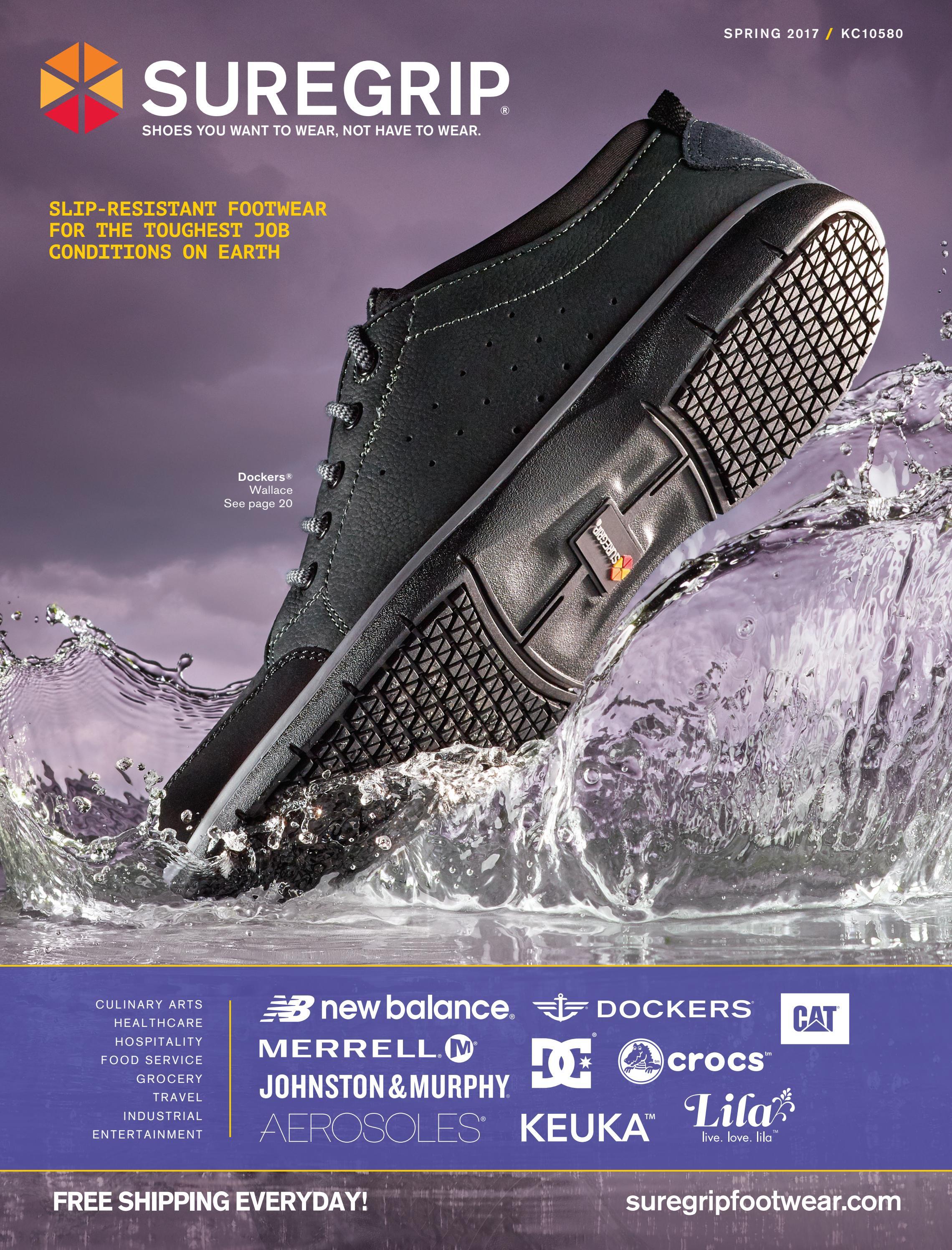 c9bf5d36 SureGrip Shoes Spring 2017 Retail Catalog by SureGrip Footwear - issuu