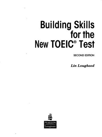Building Skills For The New Toeic Test by Võ Hao Hao - issuu