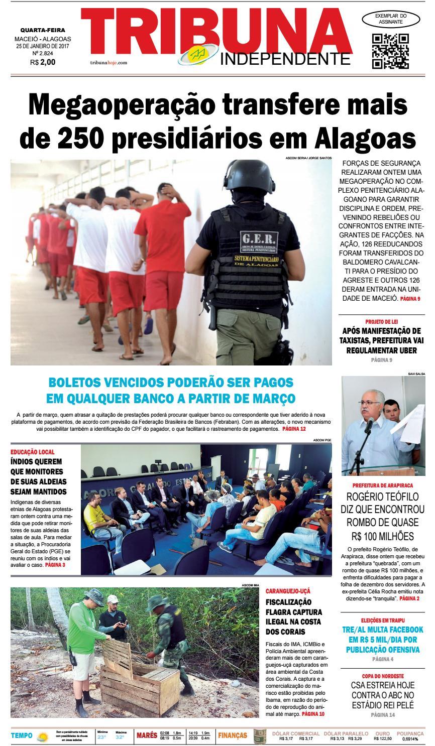 7f5ed788fb34c Edição número 2824 - 25 de janeiro de 2017 by Tribuna Hoje - issuu