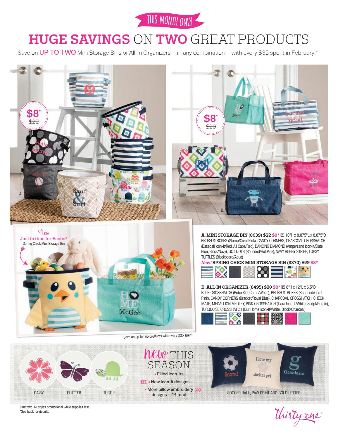 Thirty one november customer special 2014 - Thirty One Gifts February 2017 Customer Hostess Special By Amy Wilson Independent Senior Director Thirty One Gifts Issuu