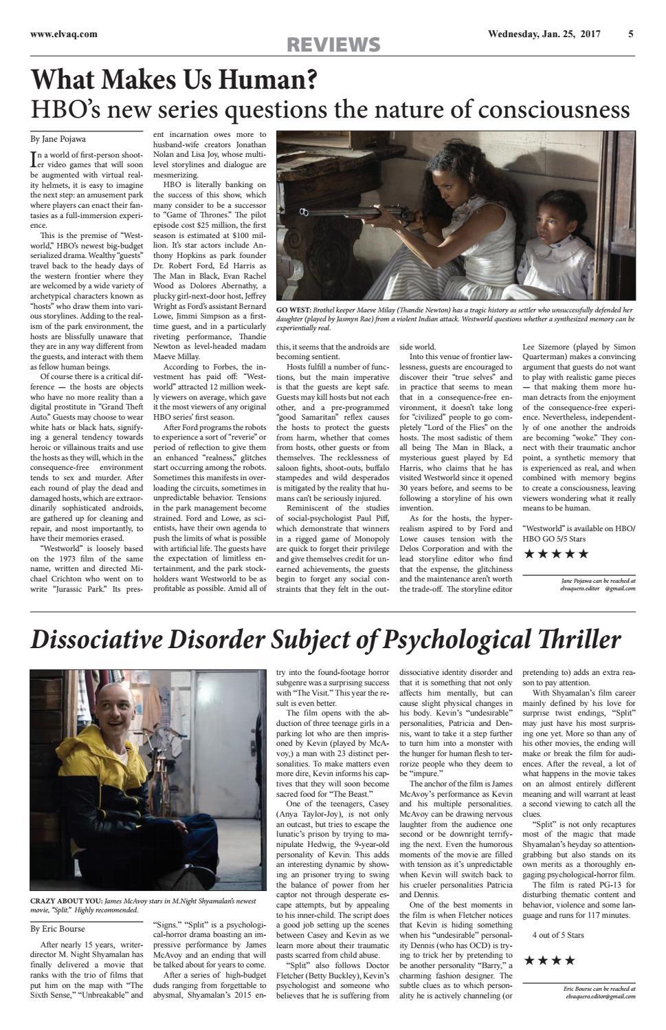 Review of Westworld by J Pojawa - issuu
