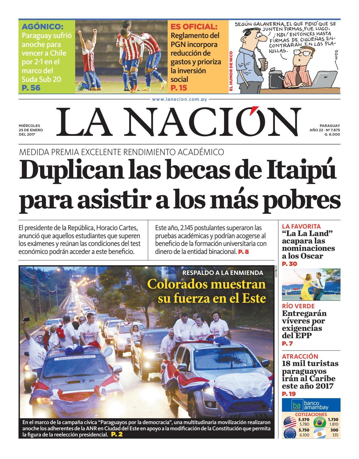 DIARIO LA NACIÓN - EDICIÓN 7.875 by La Nación - issuu