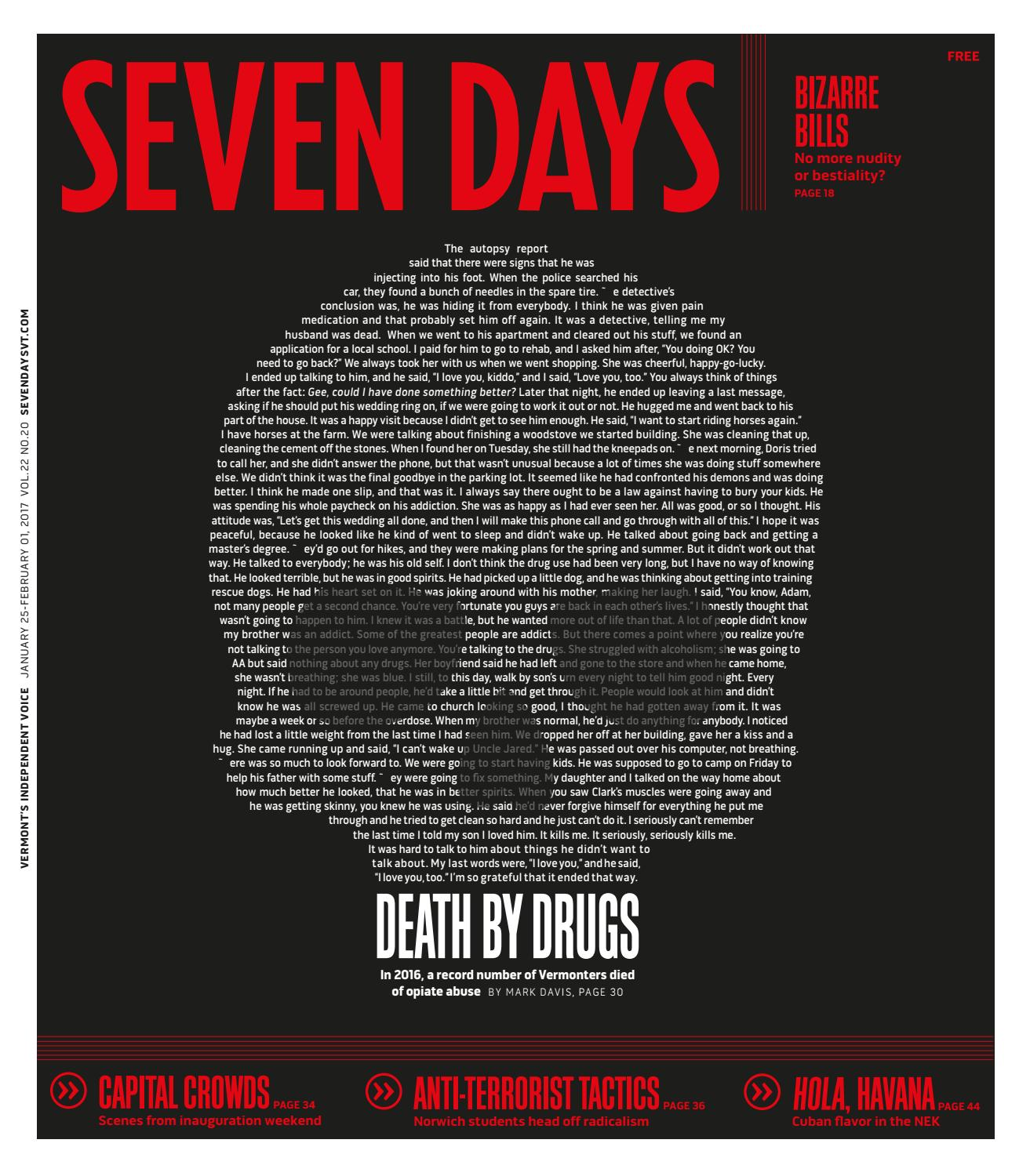 Seven days january 11 2017 by seven days issuu fandeluxe Choice Image