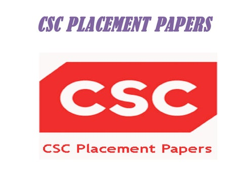 Csc Placement Papers Pdf