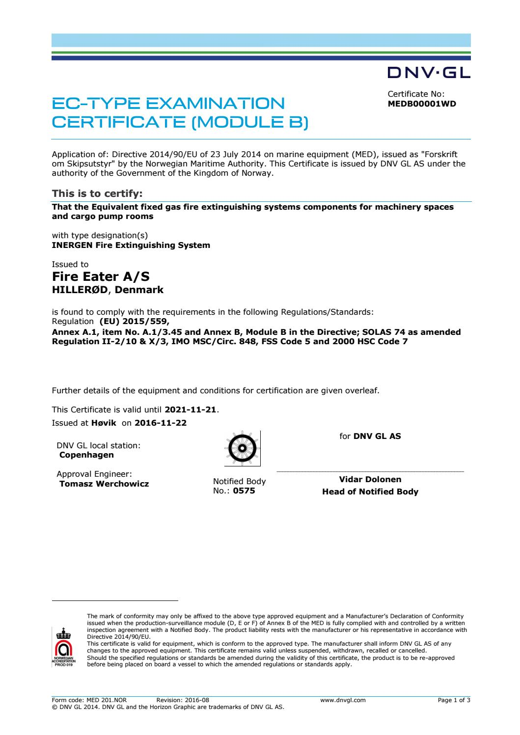 Dnv certificate fire eater by fire eater issuu 1betcityfo Choice Image