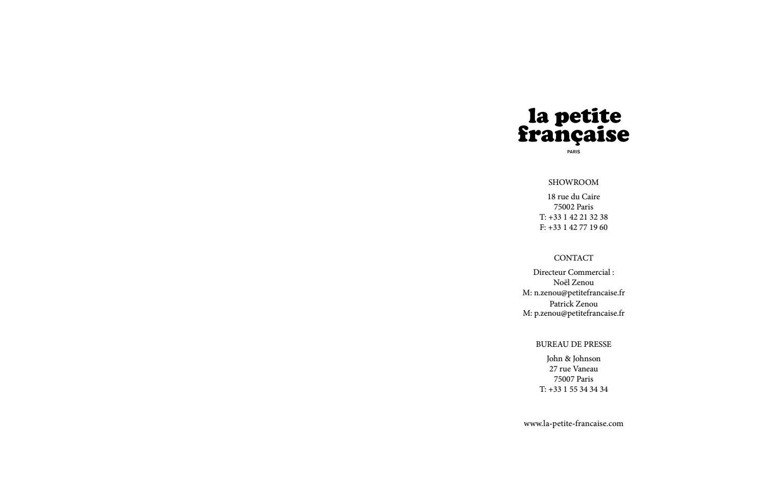 43f2ad46459 La petite française ss17 lookbook by Marlies - issuu