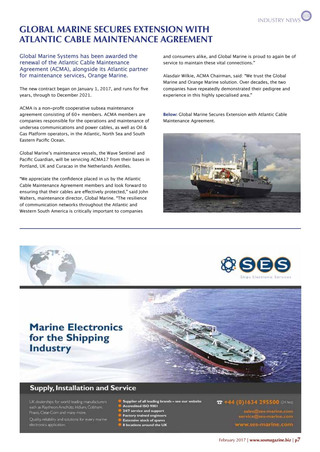 Subsea & Offshore Service Magazine February 2017 by