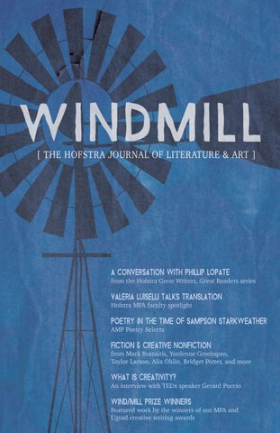 Windmill december 2016 by hofstra university issuu page 1 malvernweather Gallery