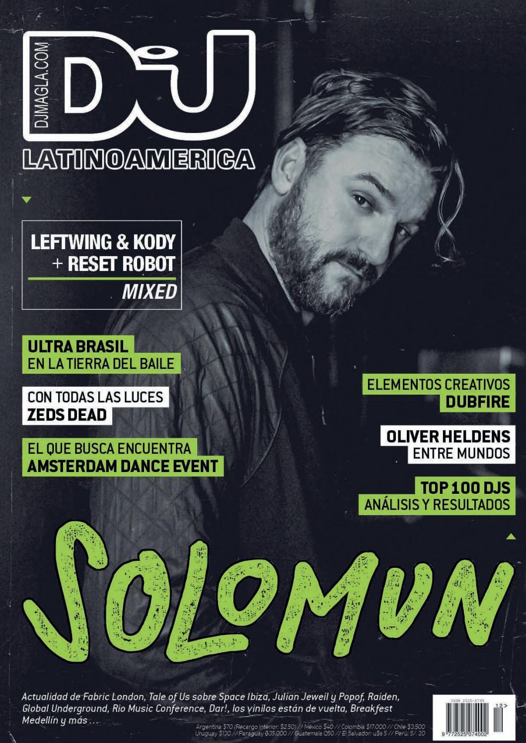 Dj Mag La 012 By Dj Mag Latinoamérica Issuu