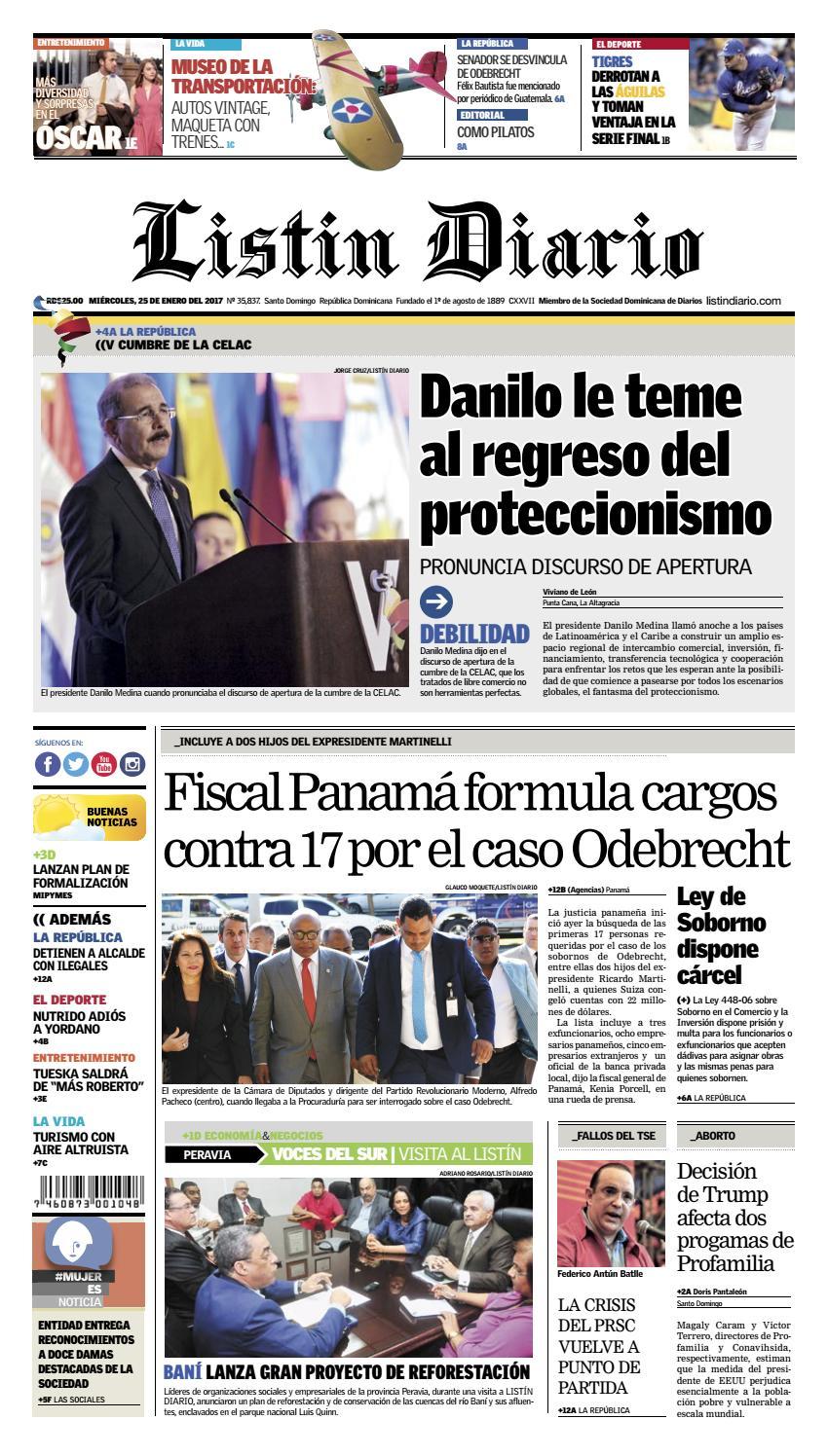 LD 25-01-2017 by Listín Diario - issuu