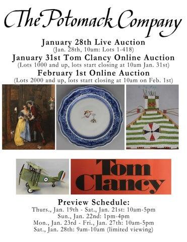 4e250a17f4c5 January 28th Live Auction