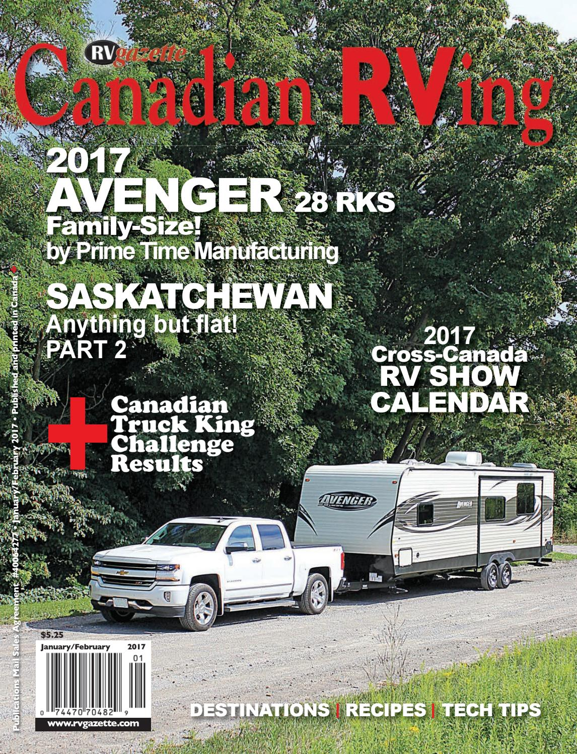 Canadian RVing Jan/Feb 2017 by Dovetail Communications - issuu