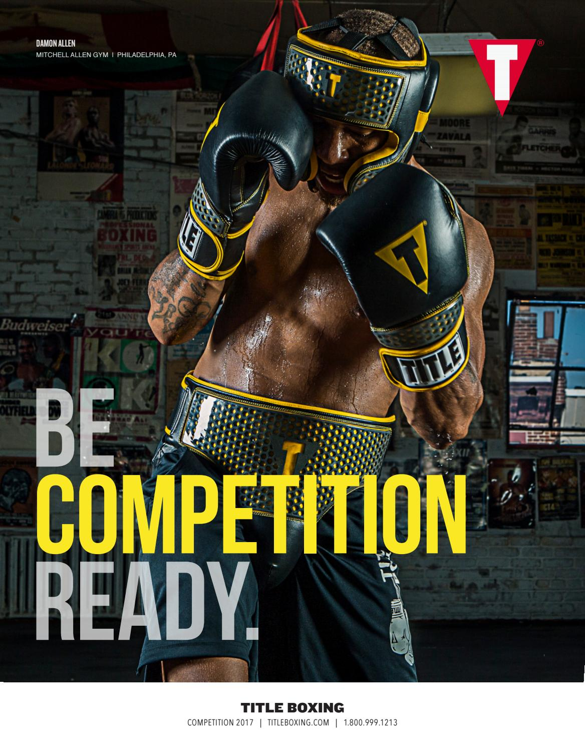 Title Boxing Competition Catalog 2017 By Title Boxing Issuu