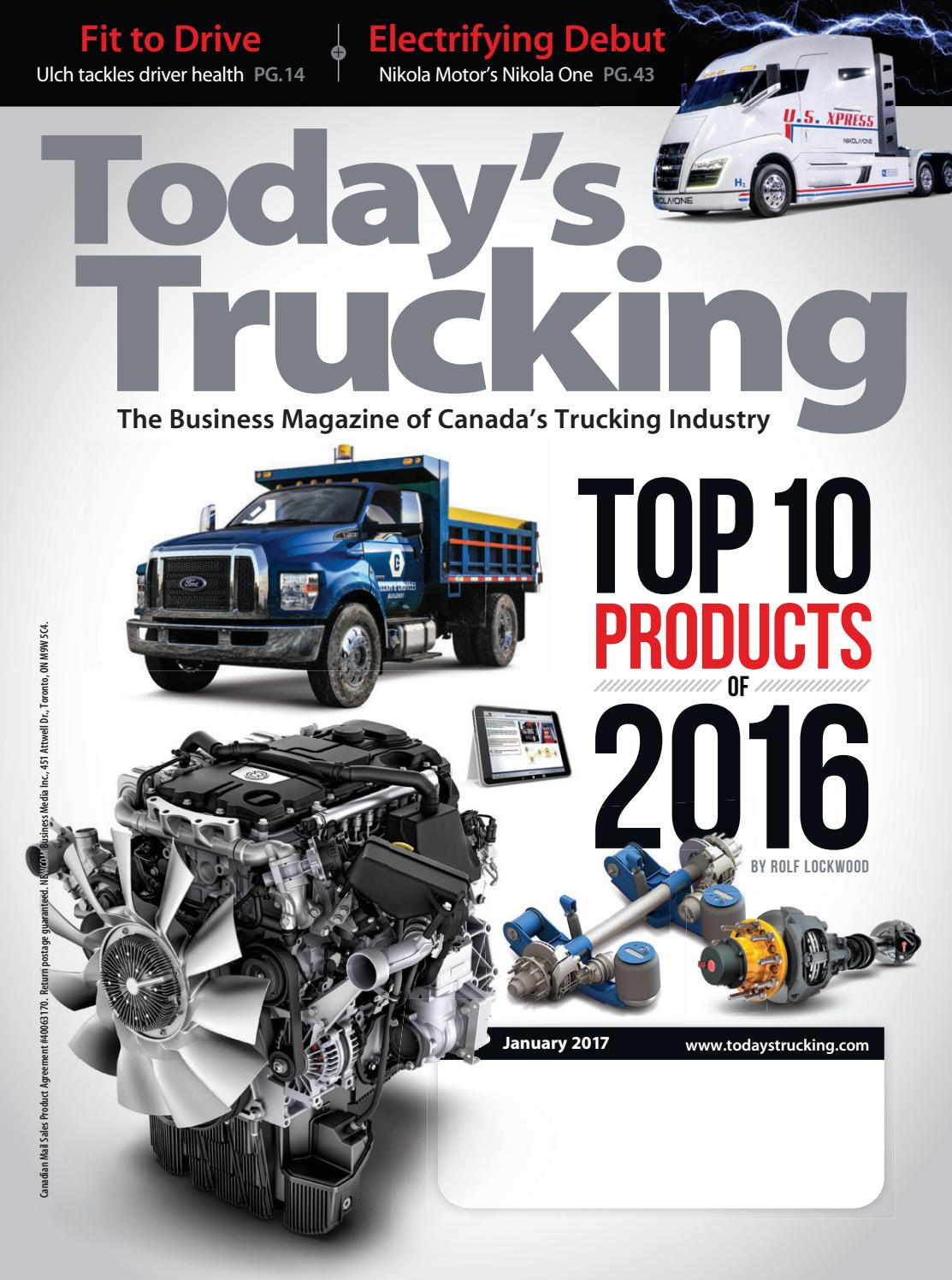 Today's Trucking January 2017 by Annex Business Media - issuu